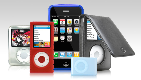 iCandy Apple iPod Accessories and  iPhone Accessories