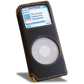 Covertec Leather cases for iPod nano