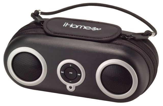 iHome2Go iHome iH13 Water-Resistant Sport Case Speakers for iPod iPod shuffle and other MP3 players iH19