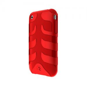 SwitchEasy Rebel iPhone Case for iPhone 3G and 3GS - Red SW-CAP-REB-R