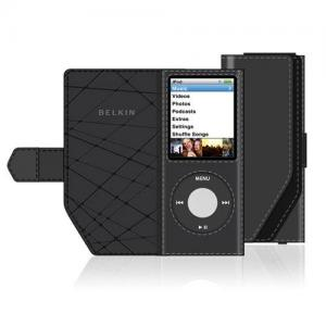 Belkin Leather Folio Case for 4th Gen iPod nano