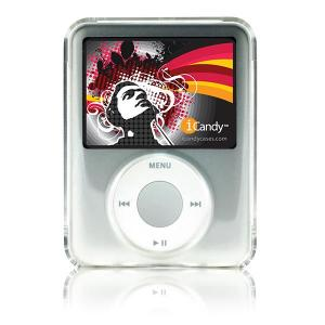 iCandy Clear Acrylic Case for 3rd Gen iPod nano