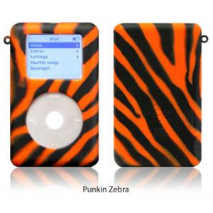 exo animals punkin zebra for 40GB/60GB ClickWheel iPod