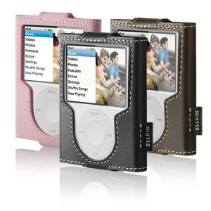 Belkin Leather Sleeve Case for 3rd Gen iPod nano