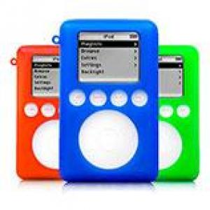 Xskn exo Silicone Cases for 3rd Gen iPod