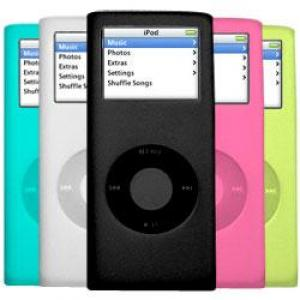 iCandy Cases for 2nd Gen iPod nano