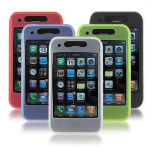 iCandy Silicone Cases for iPhone 3G