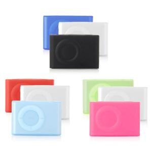 iCandy shuffle Silicone cases for 2nd Generation iPod shuffle