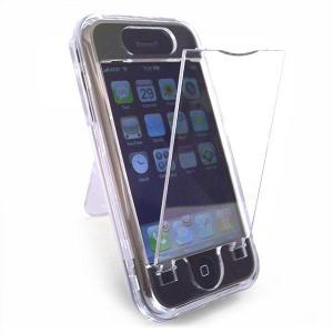 iPhone Clear Acrylic Case with Stand