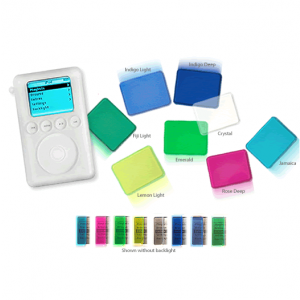 Xskn iShade TPU Screen Protectors for iPod and iPod mini
