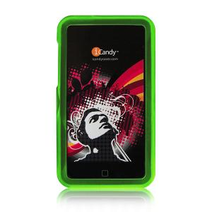 iCandy Rave Cases for 2nd & 3rd Gen iPod touch -  Green