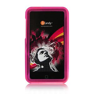 iCandy Rave Cases for 2nd Gen & 3rd Gen iPod touch -  Pink