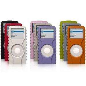 XtremeMac Tuffwrap 3-Pack for iPod nano Gray/Pink/Lavender