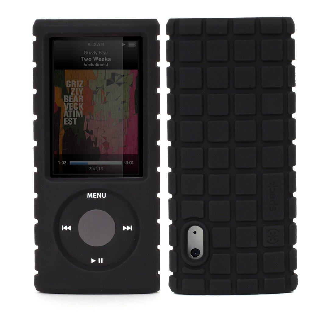 speck pixelskin case for 5th gen ipod nano black. Black Bedroom Furniture Sets. Home Design Ideas