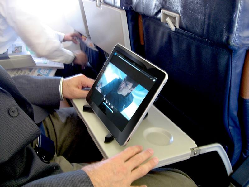 Electronic devices on plane