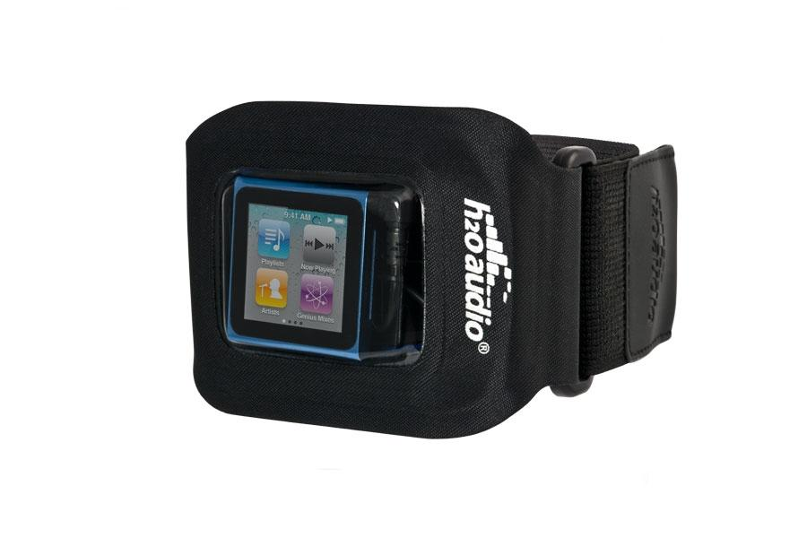 H2o Audio Amphibx Fit Waterproof Armband For Ipod Nano Shuffle And Small Mp3 Players
