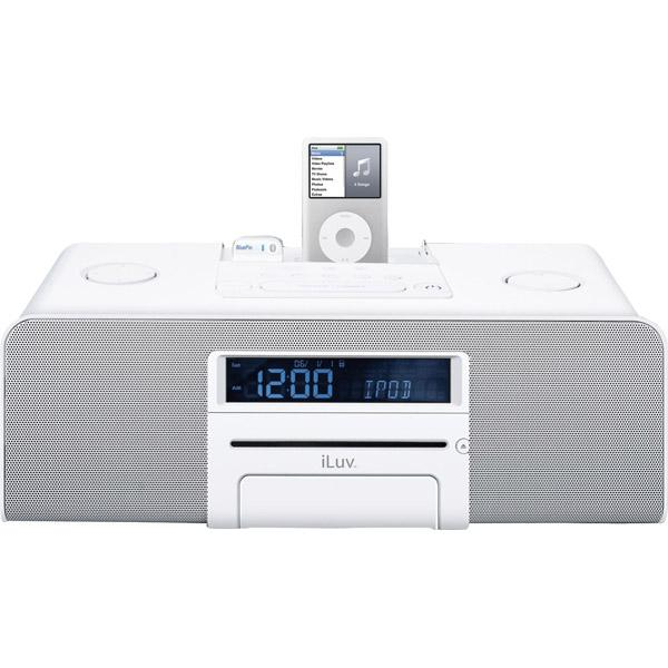 iluv i199 bluepin hi fi multimedia system with cd player for ipod rh theistore com