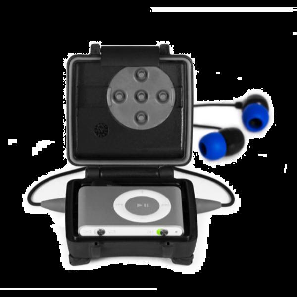 h2o audio ish3 interval waterproof headset for 2nd gen. Black Bedroom Furniture Sets. Home Design Ideas