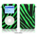 exo animals green zebra for 40GB/60GB ClickWheel iPod