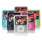 iCandy Silicone with Acrylic Cases for 3rd Generation iPod nano