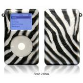 exo animals- pearl zebra for 20GB/30GB ClickWheel iPod