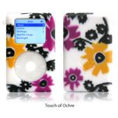 exo flowers touch of ochre for 40GB/60GB ClickWheel iPod