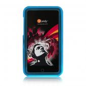 iCandy Rave Cases for 2nd Gen & 3rd Gen iPod touch -  Blue