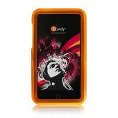 iCandy Rave Cases for 2nd Gen & 3rd Gen iPod touch -  Orange