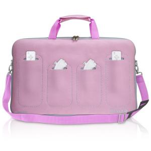 DreamGear Neo Fit Bag for Wii Fit Pink/Grey - DGWII-1004