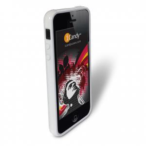 iCandy Rave Cases for iPhone 5 & iPhone 5S -  GLOSSY WHITE