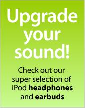 iPod headphones and earphones